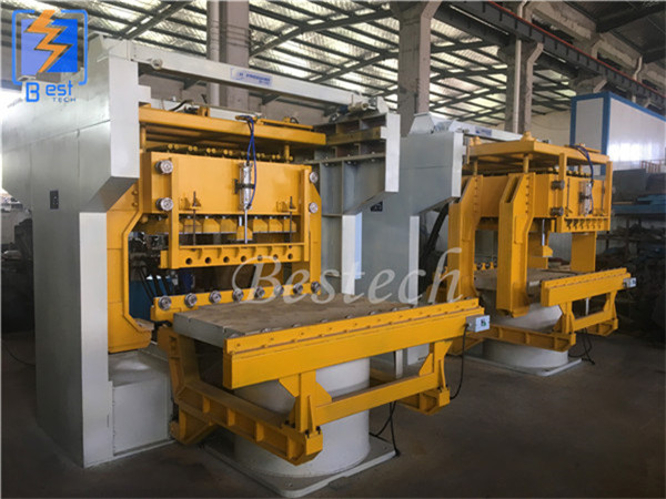 Mulite-contact hydraulic green sand molding machine supplier